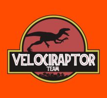 velociraptor team Kids Clothes