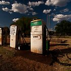Outback Petrol Station by wolfcat