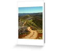 Razor Back Drive,Mt Blue Rag Greeting Card