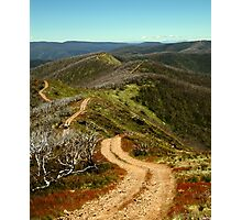 Razor Back Drive,Mt Blue Rag Photographic Print