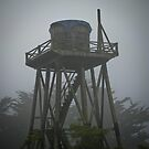 water towers of mendocino [1] by Bruce  Dickson