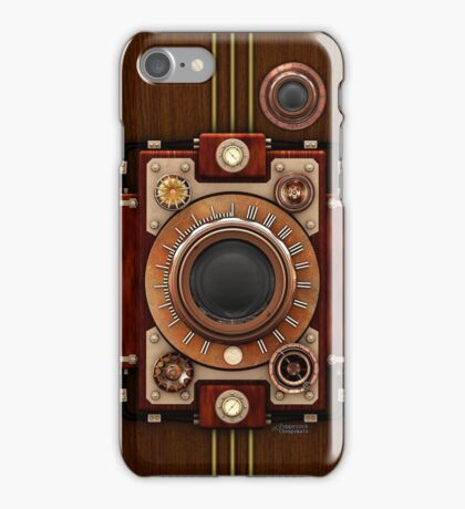 Vintage Steampunk Camera No.1A Steampunk phone cases iPhone Case/Skin