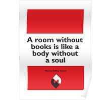 On Books - Marcus Tullius Cicero Poster