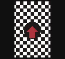 Mod Checkered Two Tone with Red Arrow by 'Chillee Wilson' Kids Clothes