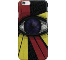 Eye + Lines iPhone Case/Skin