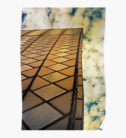 Opera House Tiles Poster