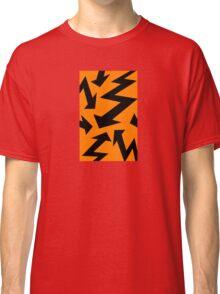 Retro 80's Lightning Arrow by 'Chillee Wilson'  Classic T-Shirt