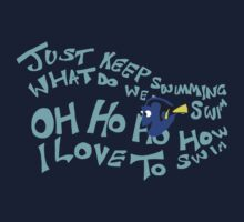Just Keep Swimming Kids Clothes