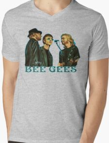 Bee Gees Mens V-Neck T-Shirt