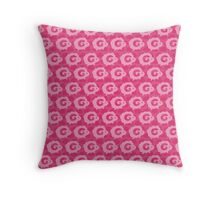 Pink Dreams - Multiple Sheeps Pattern Throw Pillow