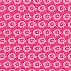Pink Dreams - Multiple Sheeps Pattern by XOOXOO