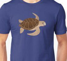 Happy Loggerhead Sea Turtle Unisex T-Shirt