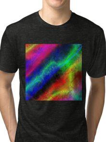 Rainbow Frost Tri-blend T-Shirt