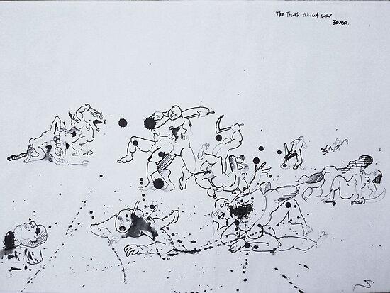 war series #9 by Loui  Jover