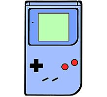 Blue Vintage Gameboy series Photographic Print