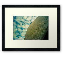 Opera House Tiles and Sky Framed Print