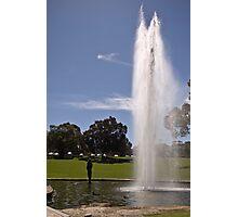 Gushing Fountain - Kings Park Photographic Print