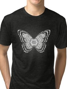 Lace Butterfly Tri-blend T-Shirt