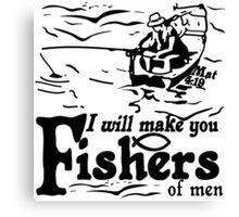 FISHERS OF MEN - FOLLOW ME Canvas Print
