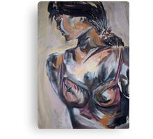 Figure Study Canvas Print