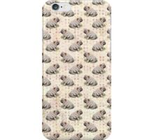 Shar Pei - vintage dot iPhone Case/Skin