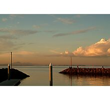 Last Ray's Limberners Point,Geelong Photographic Print