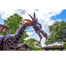 Maleficent Dragon from the Festival of Fantasy Parade at the Magic Kingdom, Walt Disney World Photographic Print