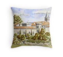 Château at Torsac, France Throw Pillow