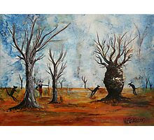 Gone Walkabout Photographic Print