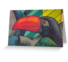 Toucan Graffiti Greeting Card
