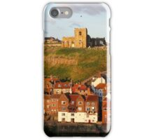 Evening Sunshine in Whitby iPhone Case/Skin