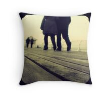Lover's Walk Throw Pillow