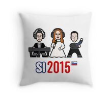 Slovenia 2015 Throw Pillow