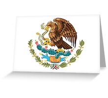 Coat of Arms of Mexico Greeting Card