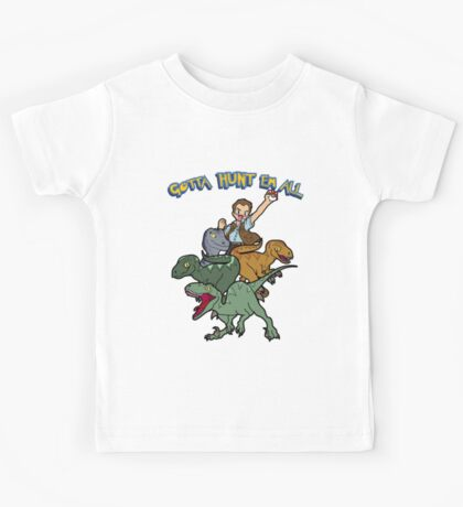Gotta Hunt Em All Kids Tee