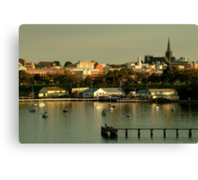 Geeong,City By The Bay Canvas Print