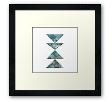 Geometric 8 Framed Print
