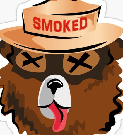 Get Smoked Sticker