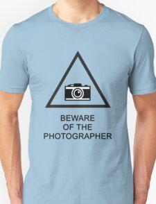 Beware of the Photographer T-Shirt