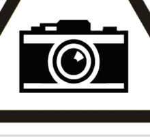 Beware of the Photographer Sticker