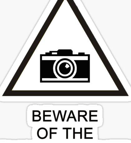 Beware of the Photographer Sticker