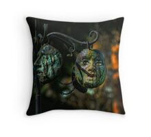 The Circle of Life Unmasked Throw Pillow