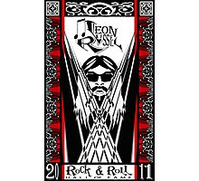 Leon Russell, Rock & Roll Hall of Fame, Commemorative Art by L. R. Emerson II Photographic Print