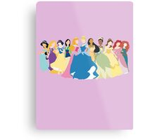 Princesses Metal Print