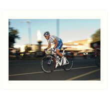 Another day in the office - Robbie McEwen Art Print