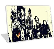 Monsters Gather For Class Reunion Photograph Laptop Skin