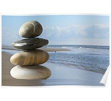 Zen beach Poster