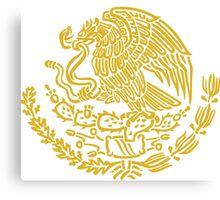 Coat of Arms of Mexico Canvas Print