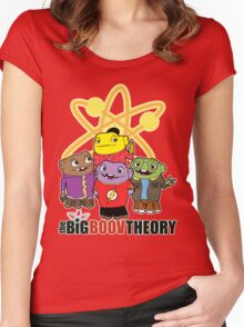 Big Boov Theory Women's Fitted Scoop T-Shirt