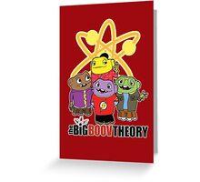 Big Boov Theory Greeting Card